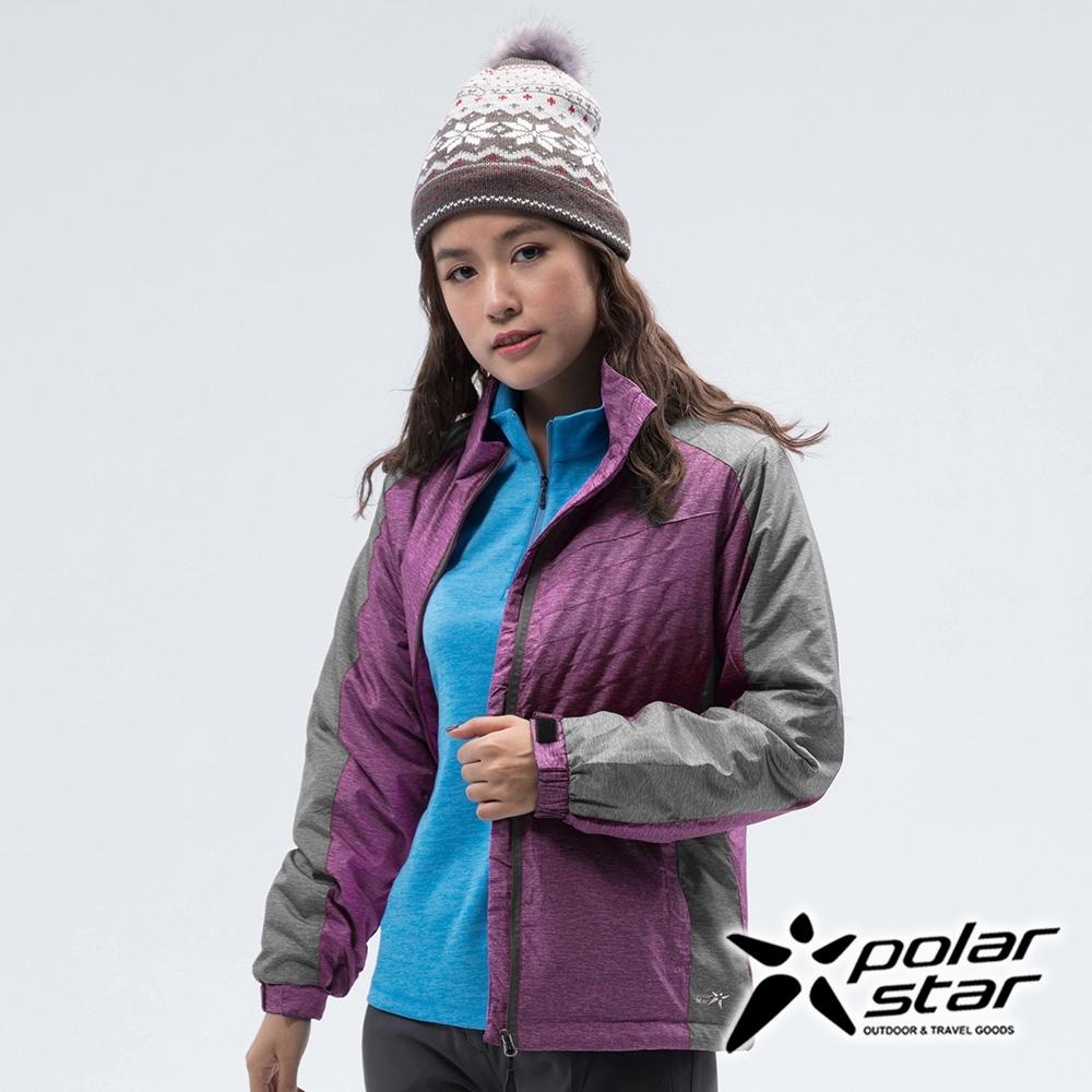 PolarStar 女 鋪棉保暖外套『紫紅』 P18216