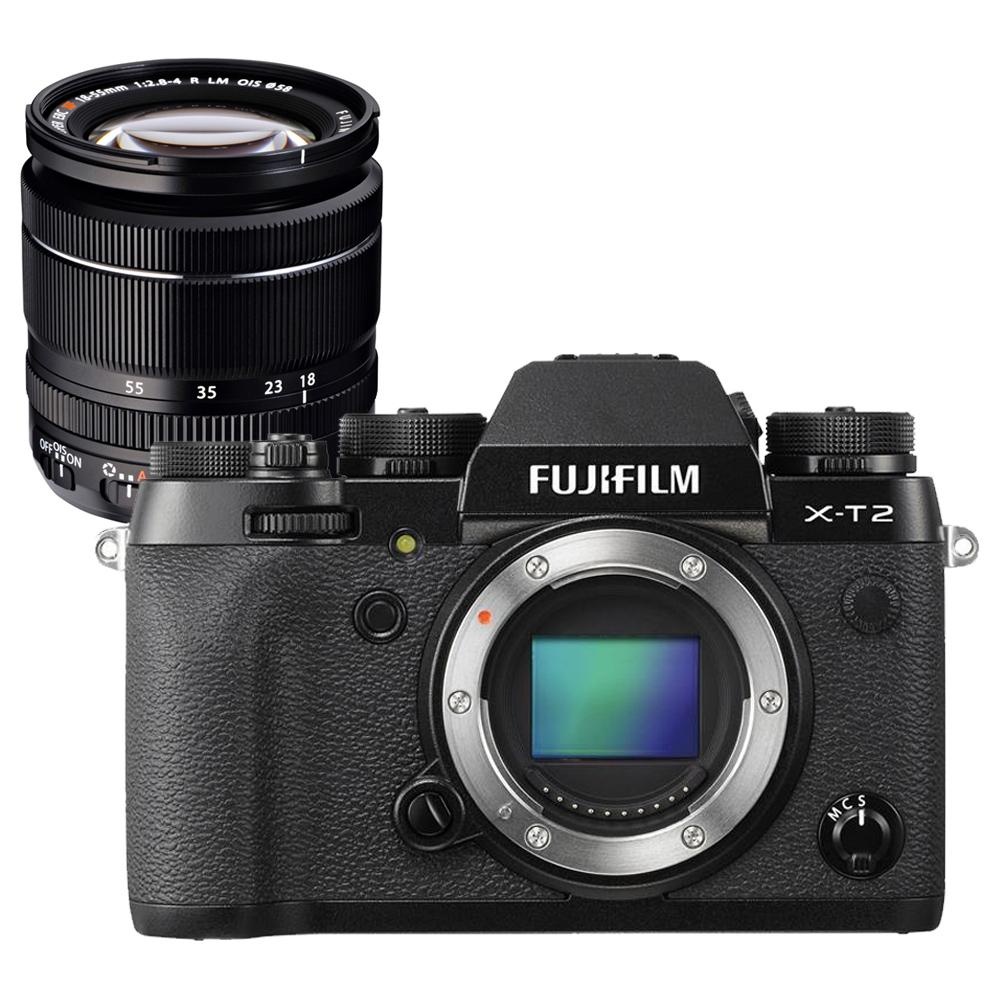 【快】FUJIFILM X-T2+XF18-55mm 單鏡組*(中文平輸)