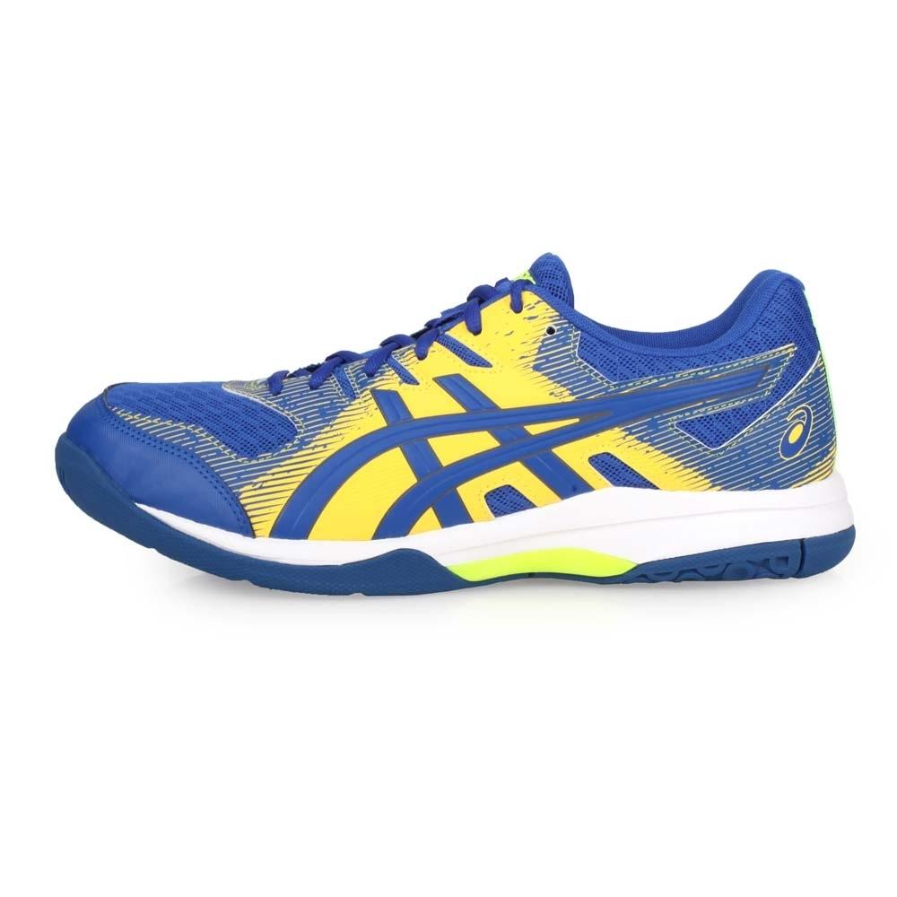 ASICS 男 排羽球鞋 GEL-ROCKET 9 藍黃