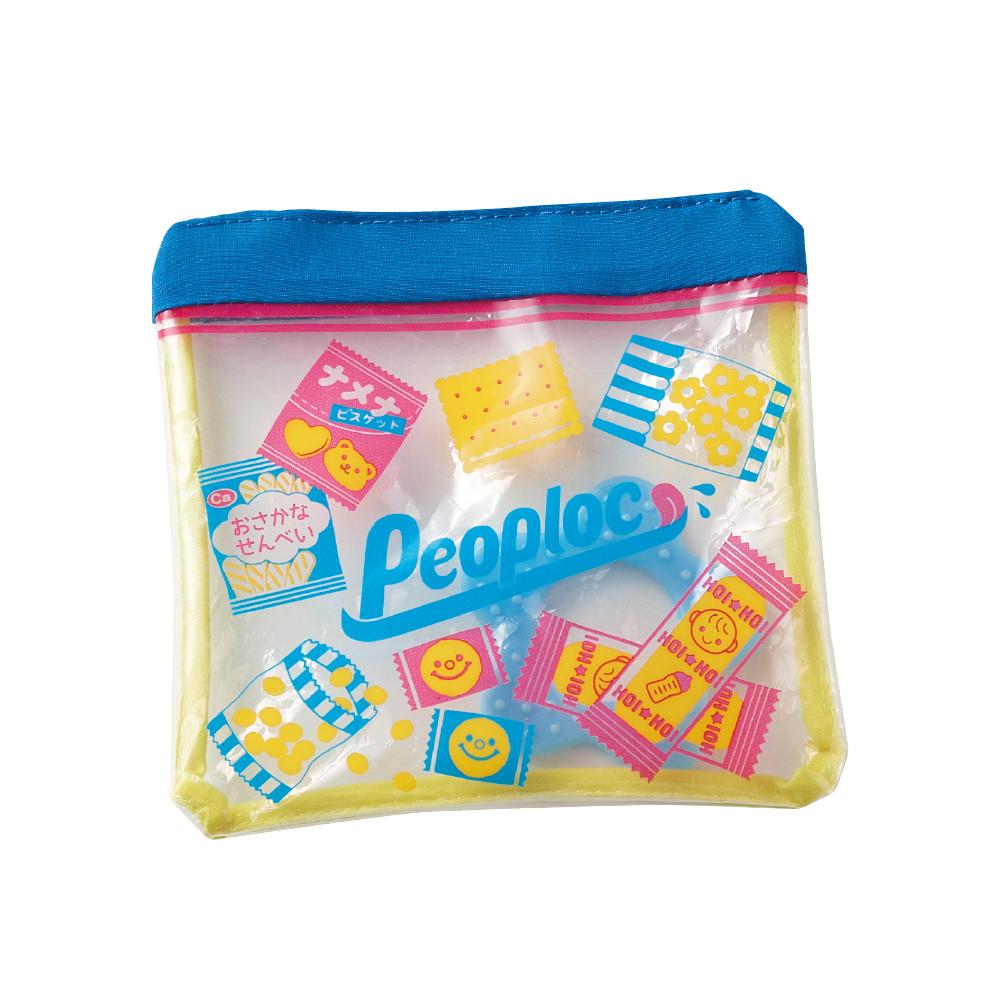 日本People-夾鏈袋咬舔玩具
