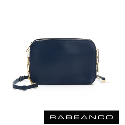 RABEANCO LUXURY極致奢華系列鍊帶包 深藍