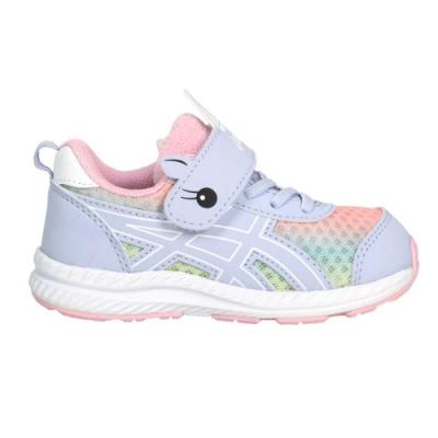 ASICS CONTEND 7 TS SCHOOL YARD女小童慢跑鞋 1014A202-405 紫粉橘黃藍