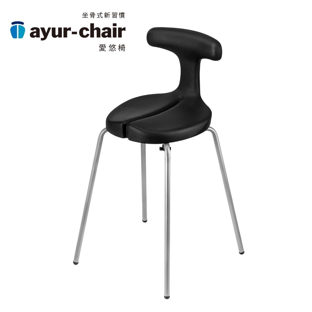 愛悠椅 Ayur-chair 簡約基本款M_黑(701010014)