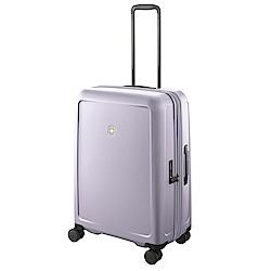 VICTORINOX 瑞士維氏CONNEX 可擴充26吋硬殼行李箱-紫丁香