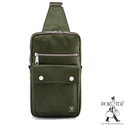 PORTER - 復刻新作MILKY+型格單肩包 - 灰綠