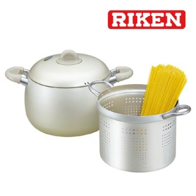 RIKEN日本理研 蒸煮湯鍋21cm(附蓋)