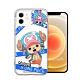 東映授權正版 航海王 iPhone 12 / 12 Pro 6.1吋 共用 透明空壓手機殼(封鎖喬巴) product thumbnail 1
