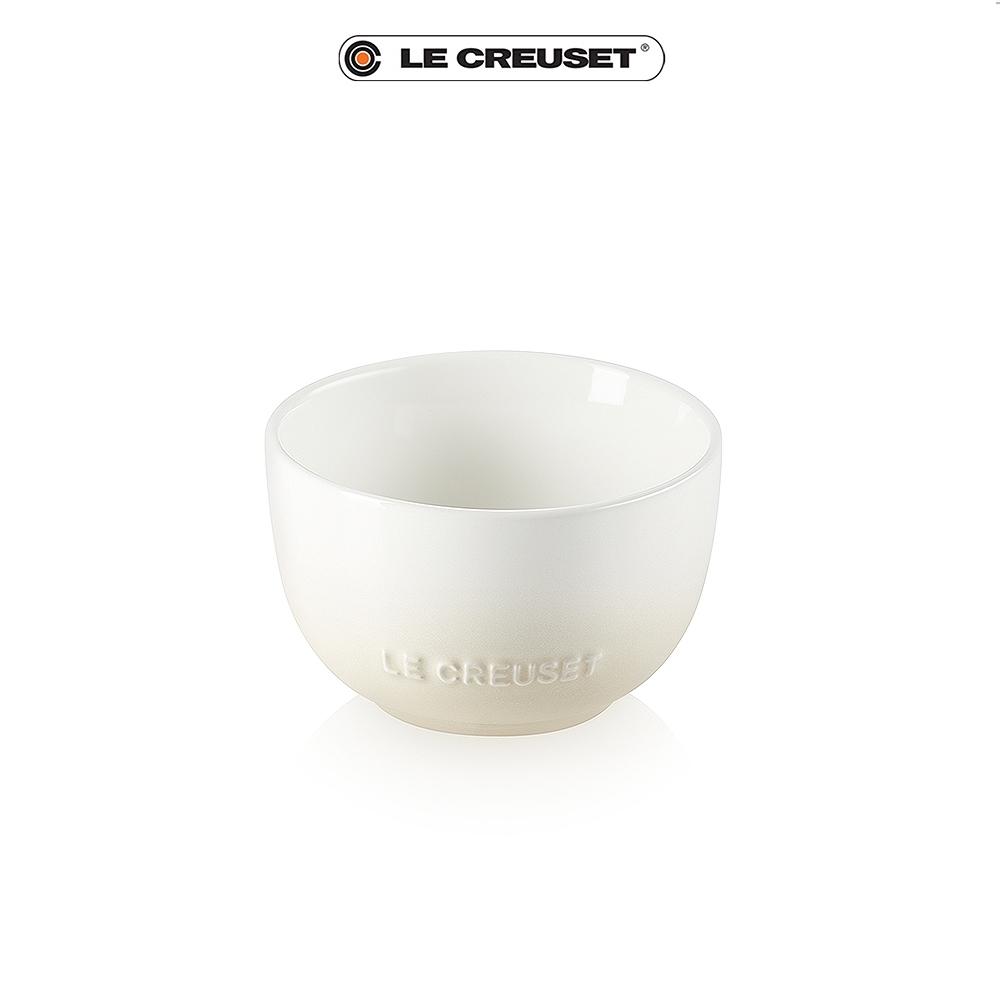 [任4件6折] LE CREUSET 瓷器花蕾系列餐碗11cm(蛋白霜)