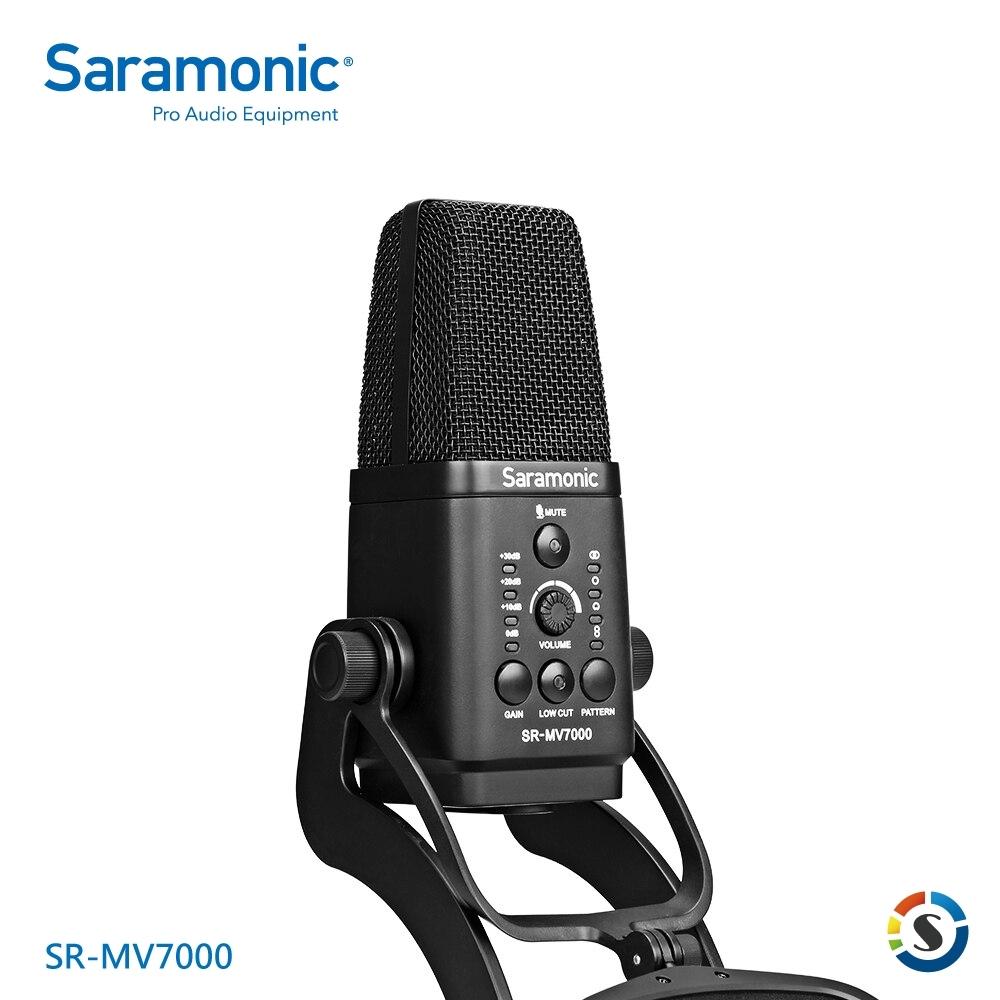 Saramonic楓笛 SR-MV7000 專業級直播麥克風