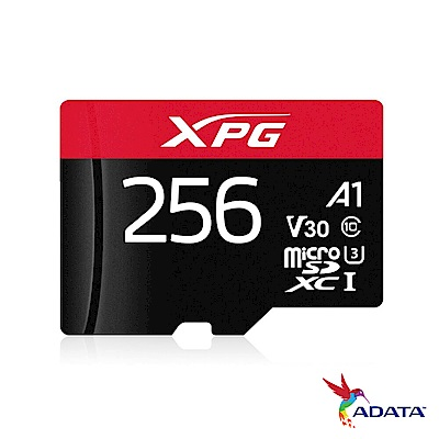 威剛 XPG microSDXC UHS-I U3(V30) 256G記憶卡