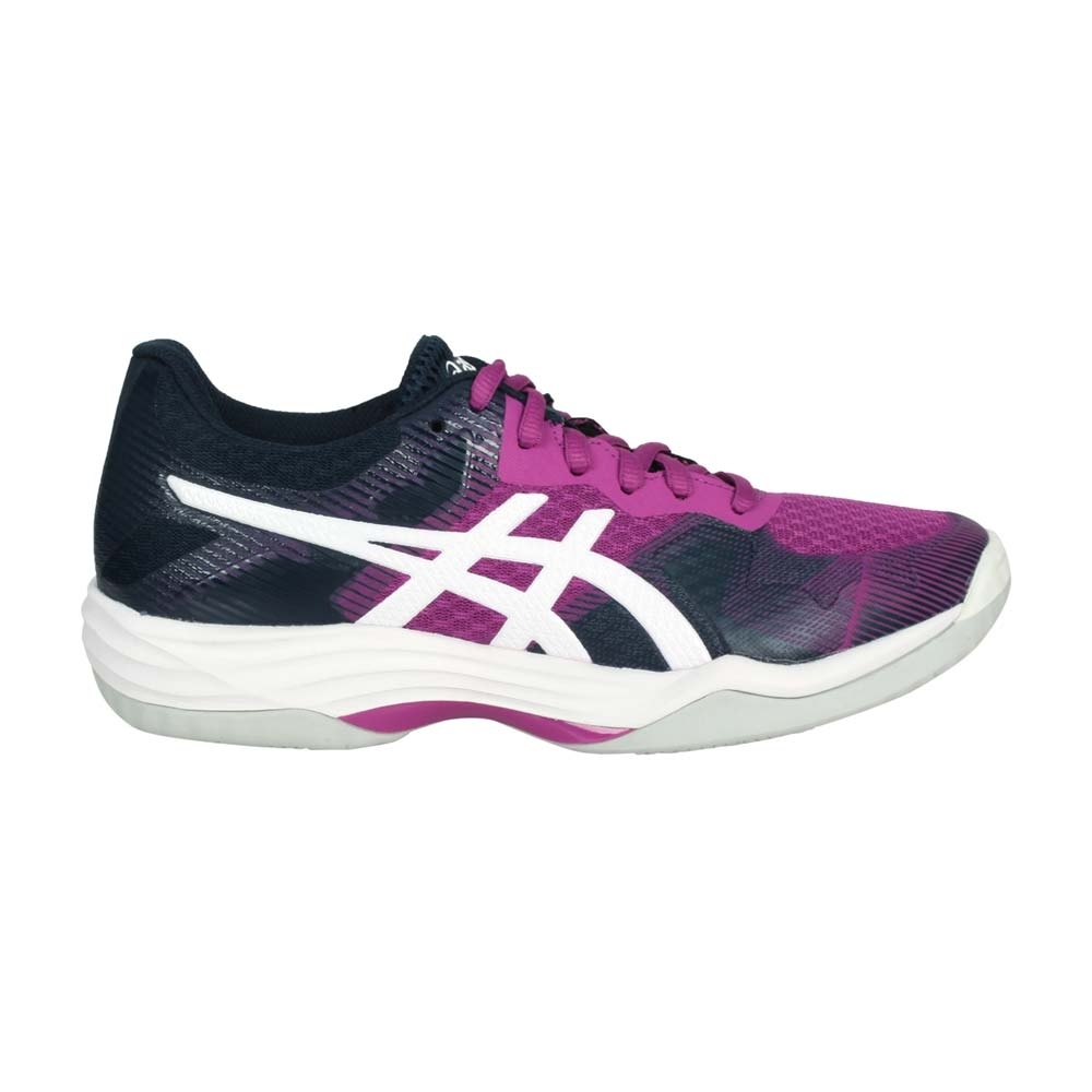 ASICS GEL-TACTIC 女排羽球鞋-排球 羽球 亞瑟士 1072A035-501 紫白丈青