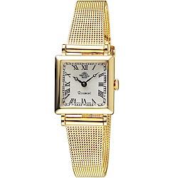 玫瑰錶Rosemont韓劇她的私生活朴敏英同款錶(TNs011-YW-MT4)-金