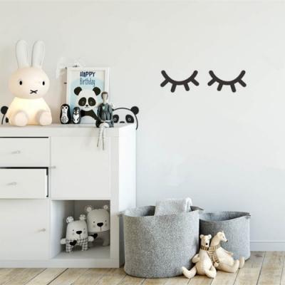 北歐風睫毛裝飾壁貼