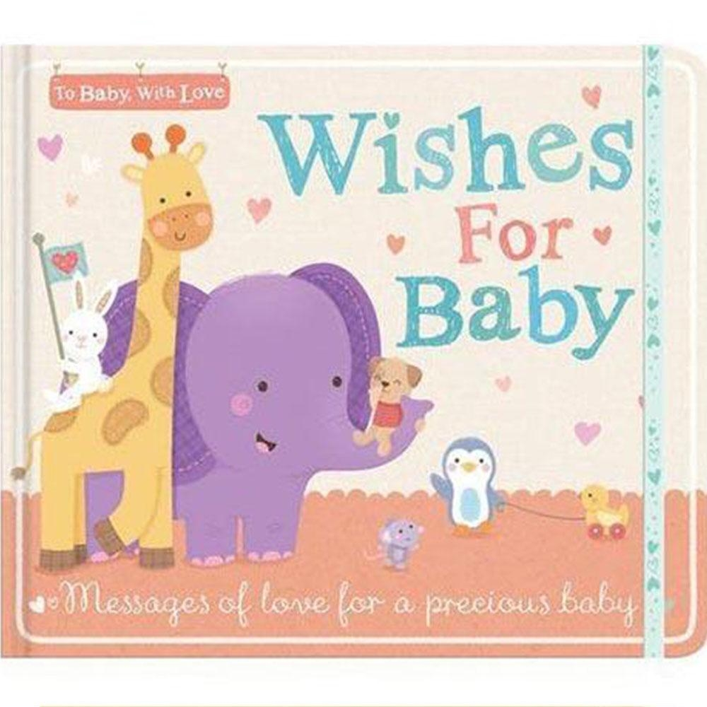 To Baby,With Love:Wishes For Baby 祝福寶貝精裝本日誌