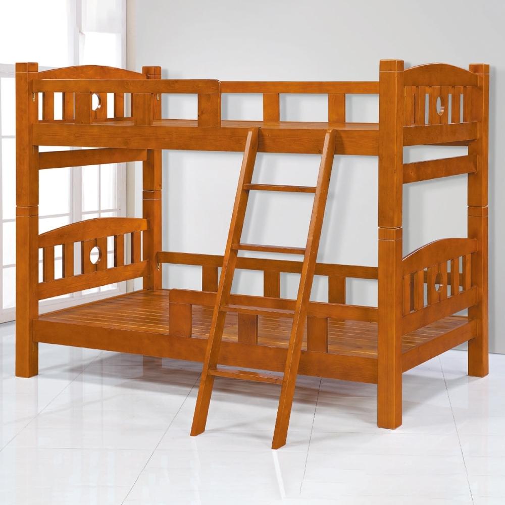 AS-歐尼斯實木雙層床-114x202x170cm