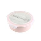 美國 Winox 樂瓷系列保鮮盒圓形附餐具3格1058ML(2色可選)