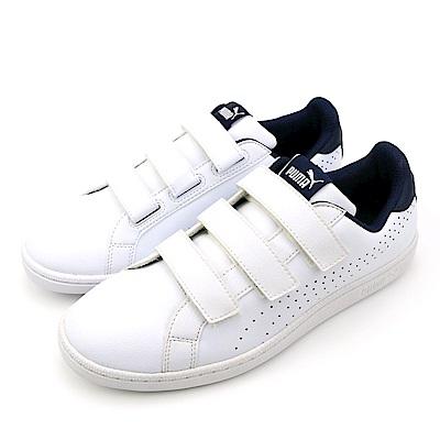 PUMA-男女休閒鞋36372301-白