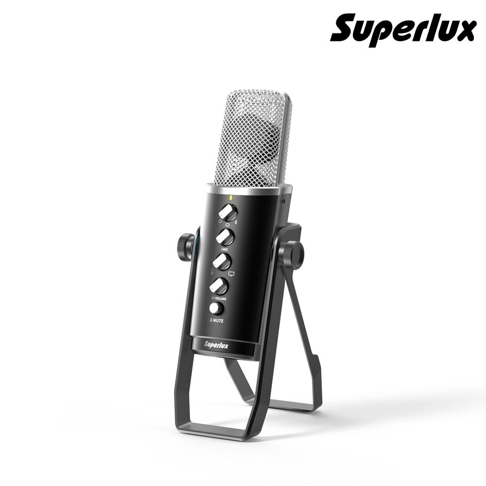 舒伯樂 Superlux E431U 電容式多指向USB麥克風