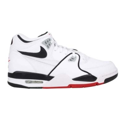 NIKE AIR FLIGHT 89 男休閒運動鞋- 經典 復古 街頭運動 氣墊 DB5918100 白黑紅