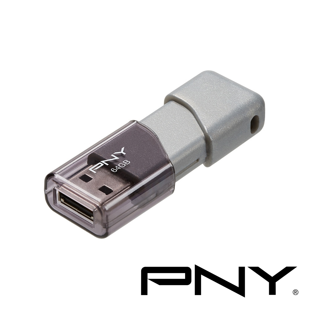 PNY USB3.0 64GB Turbo Attache 3商務伸縮碟