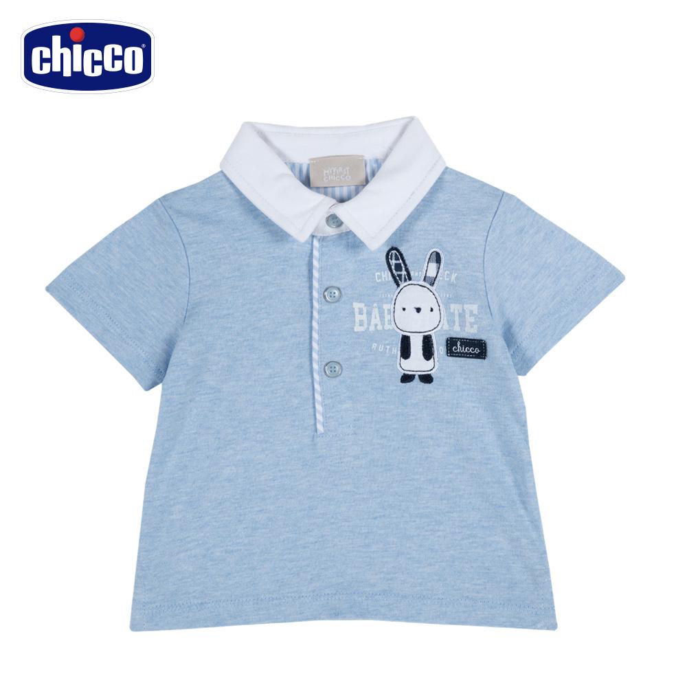 chicco-玩具車-有領短袖上衣