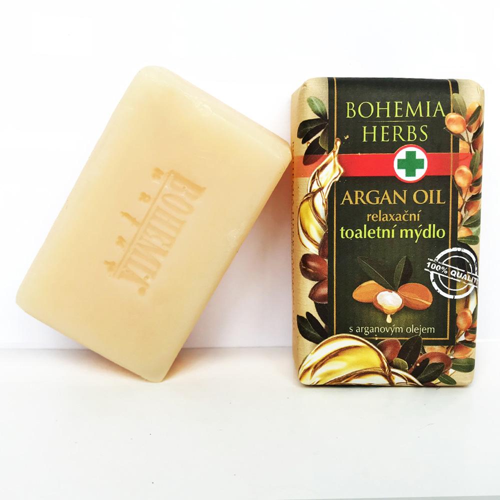 捷克波西米亞禮讚植物草本手工皂 摩洛哥油 100g