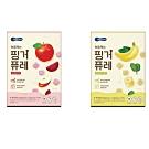 韓國 【BEBECOOK】 嬰幼兒初食綿綿果泥2入組(蘋果甜菜、香蕉菠菜)