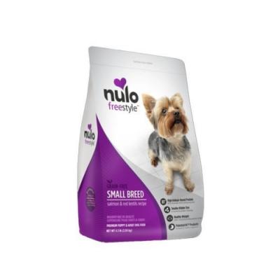 NULO紐樂芙-無穀高肉量小型犬-智利鮭魚+胡蘿蔔 11lb (4.99kg)
