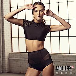 Mollifix 軟鎧甲 縮腰翹翹塑身褲(黑)