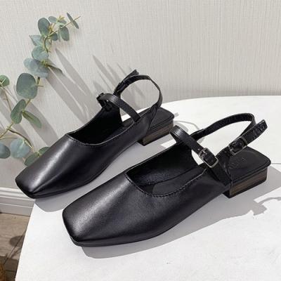 KEITH-WILL時尚鞋館 韓國設計淑女娃娃鞋-黑