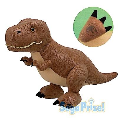 【SEGA】日版 景品 侏儸紀公園 Q版大恐龍 60CM 絨毛娃娃