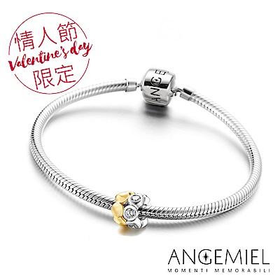 Angemiel安婕米 925純銀手鍊串珠禮盒組(比翼)