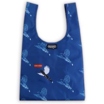 murmur 便當包/小購物袋│台灣原生種-台灣藍鵲