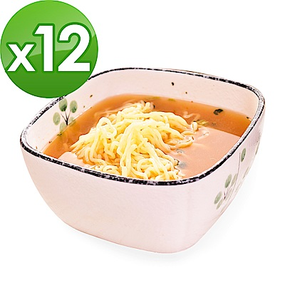 樂活e棧 低卡蒟蒻麵 燕麥涼麵+濃湯(共12份)