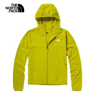 The North Face北面女款綠色防潑水防曬防風外套 4UB41B0
