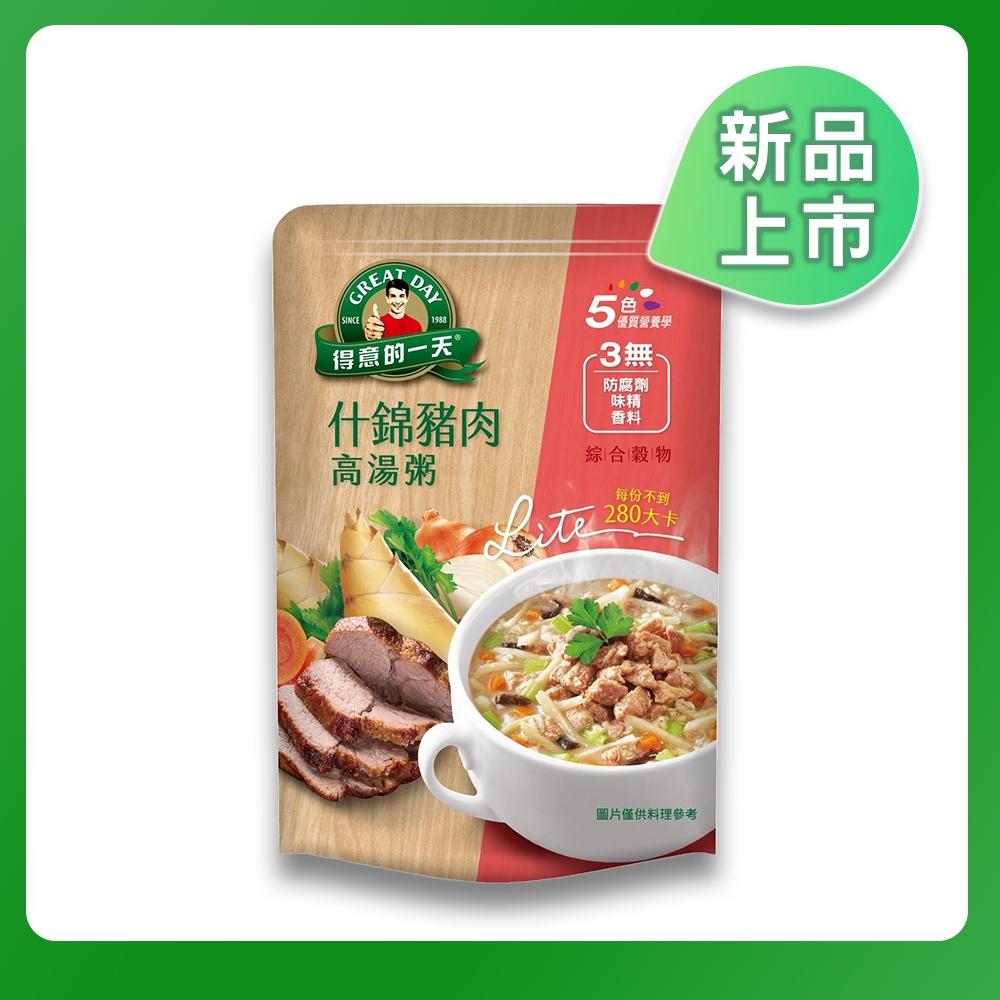 【得意的一天】什錦豬肉高湯粥(350g/包)