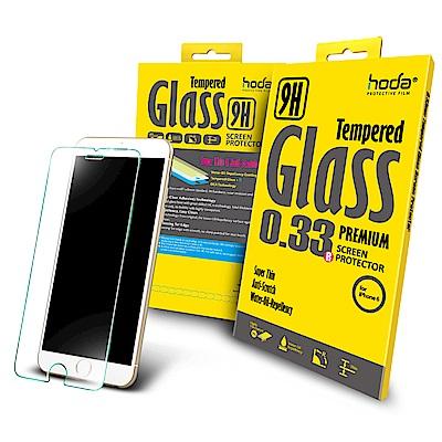 【hoda】iPhone 6/6s 4.7吋 2.5D高透光9H鋼化玻璃保護貼-非滿版