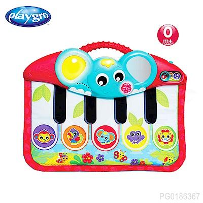 澳洲Playgro-活力小象聲光踢踢琴