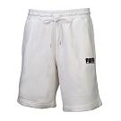 PUMA-男性流行系列Logo Tower短褲-白色-歐規