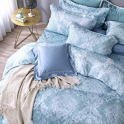 OLIVIA   Miranda 特大雙人床包歐式枕套三件組 天絲™萊賽爾