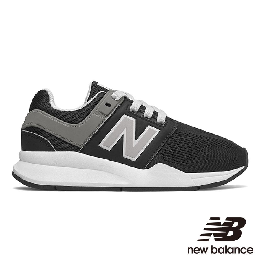 New Balance 童鞋 KA247PMP-W 黑色