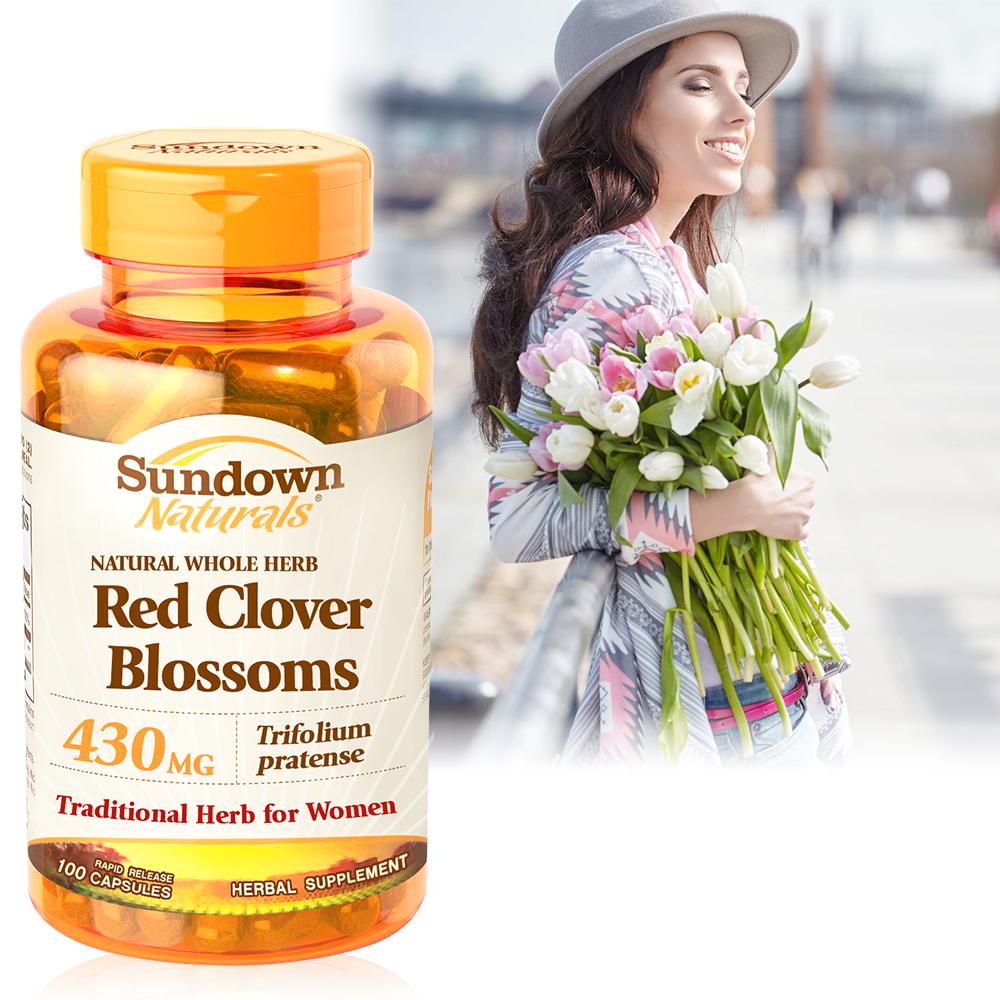 《Sundown日落恩賜》高單位頂級紅花苜蓿膠囊(100粒/瓶)
