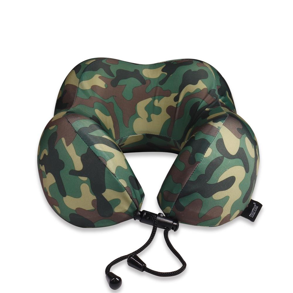 murmur 紓壓頸枕-迷彩綠 NP016
