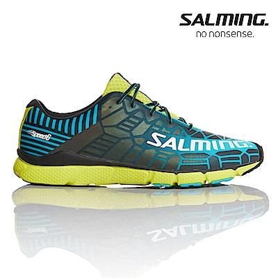 Salming SPEED 6 寬楦 男賽訓慢跑鞋 綠