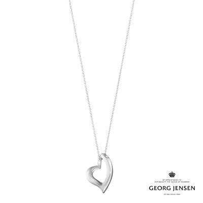 Georg Jensen 喬治傑生 HEARTS OF GEORG JENSEN 純銀項鍊
