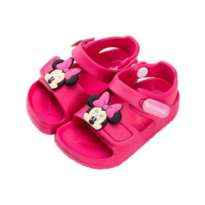 迪士尼童鞋 米妮 防水造型涼鞋- 桃紅 (柏睿鞋業)