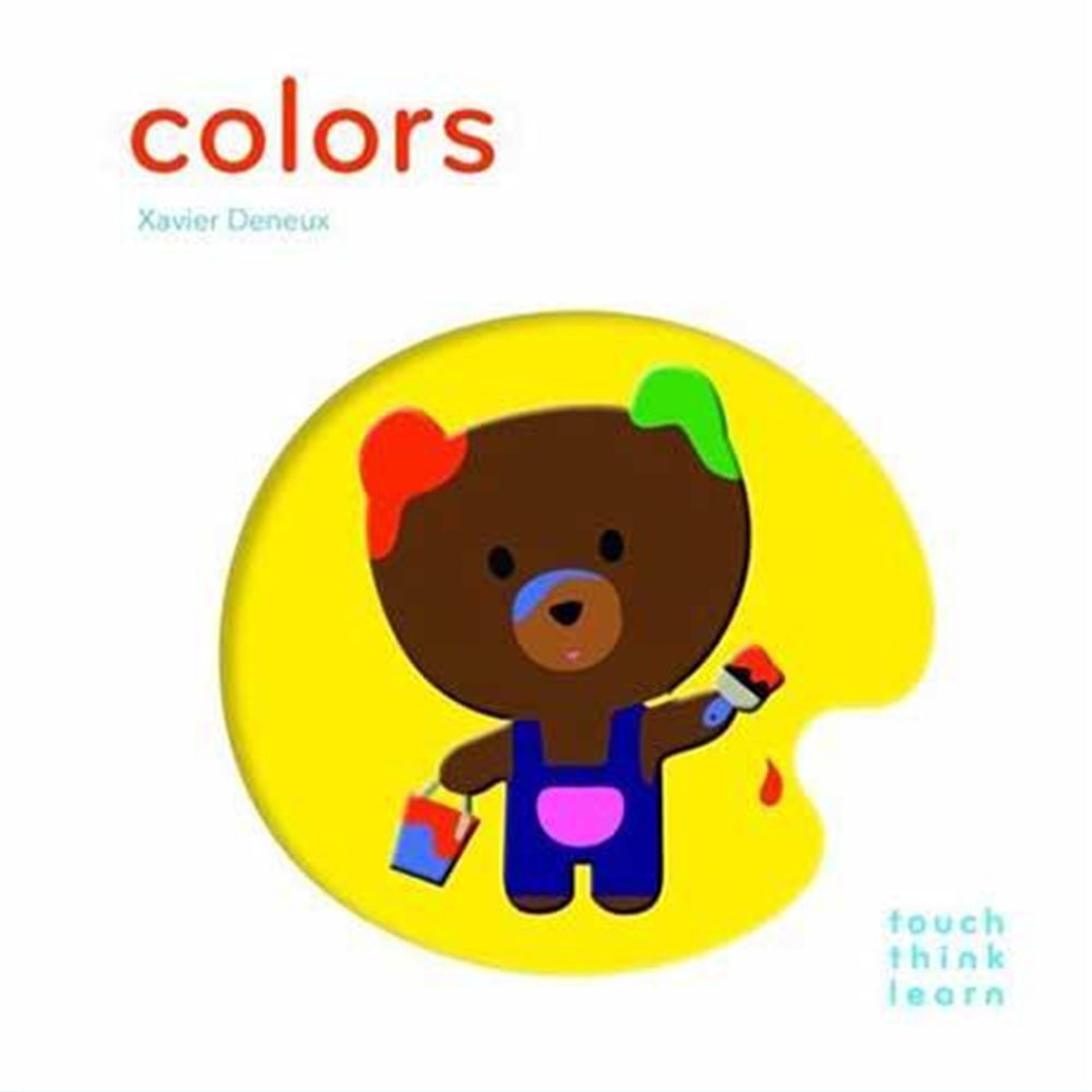 Touch Think Learn:Colors 色彩厚紙硬頁認知書