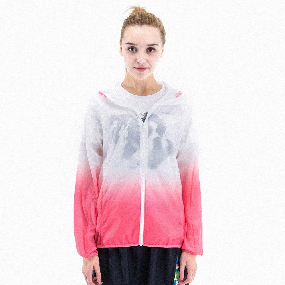 【St. Bonalt 聖伯納】女款漸層色超輕透防曬外套 (8030-粉紅漸層) 抗UV 防曬 防風 防潑水 輕薄 透氣 product image 1