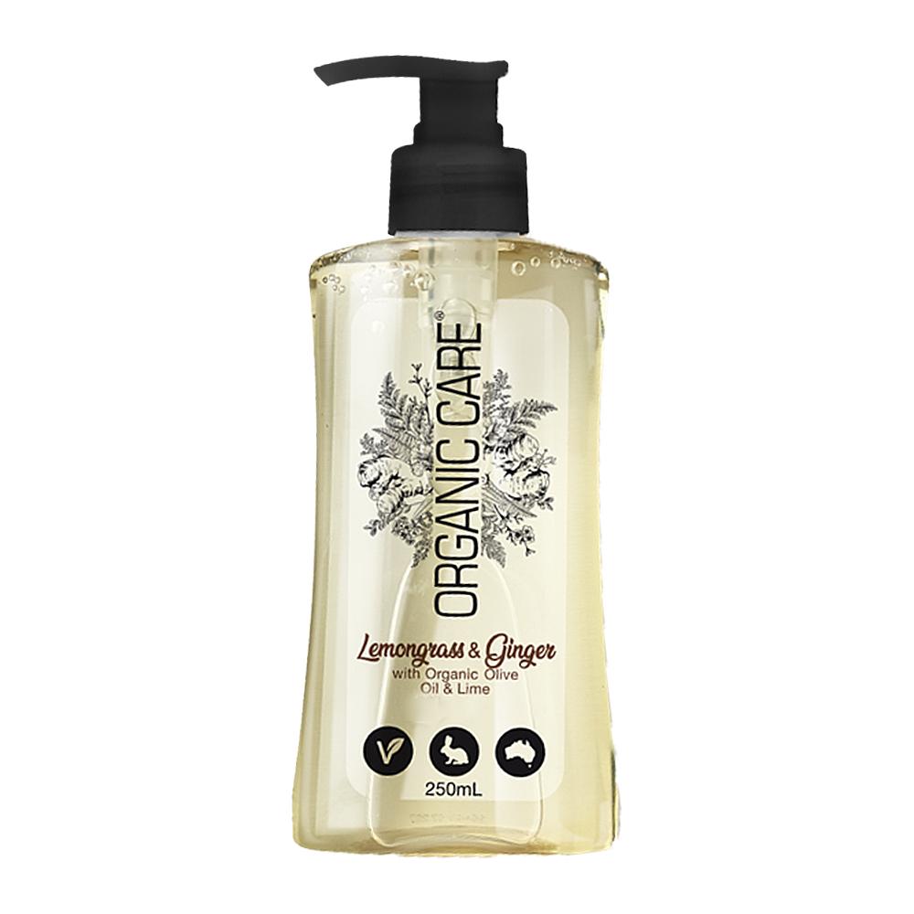 澳洲Natures Organics 植粹健康洗手乳(生薑檸檬草)250mlx4入