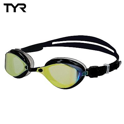 美國TYR 競速用電鍍泳鏡 Laser Evo Metallised